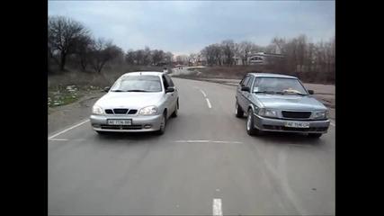 Moskvich 21412 vs Lanos