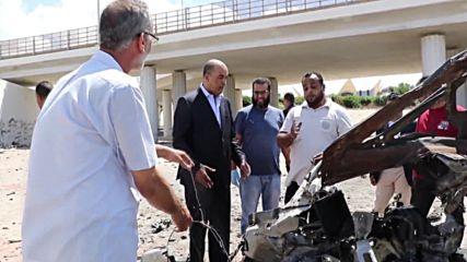 Две бомбени атаки в Триполи