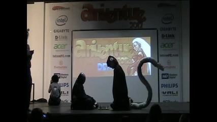 Aniventure 2012 - The winner of the cosplay scenes - The Naruto group