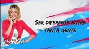* Превод * Violetta 3: Martina Stoessel - Supercreativa