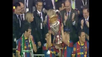 Те отново го направиха, Барселона шампион на Лига Чемпионов 2011