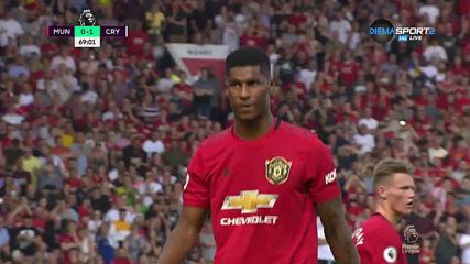 Пак дузпа за Юнайтед и пак пропиляна с лека ръка