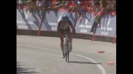 """Хорнър спечели третия етап от """"Вуелтата"""" и излезе начело в класирането"""