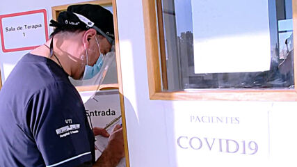 Argentina: Hospitals concerned over reaching limits of COVID-19 case capacity