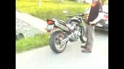 Honda Hornet 250cc With Martin Exhaust