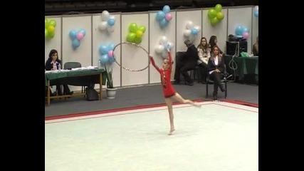 Стефани Кирякова-обръч2012г. Дп- Елит