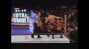 Royal Rumble 08 - Chris Jericho Vs. Jbl