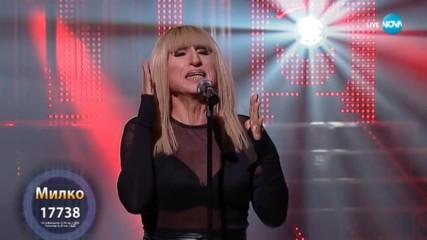 Милко Калайджиев като Лили Иванова - ''Ръцете ти'' | Като две капки вода