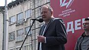 Миков: 1 май в България означава борба за свобода на труда
