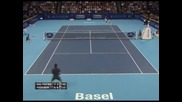 Дел Потро отново победи Федерер на финала в Базел