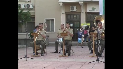 Концерт на духов оркестър в Белене-столичани в повече