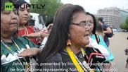 'John McCain is a Traitor' – Apache Stronghold Caravan
