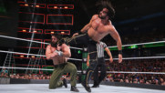Seth Rollins keeps Elias down with a relentless assault: WWE Money in the Bank 2018 (WWE Network Exclusive)