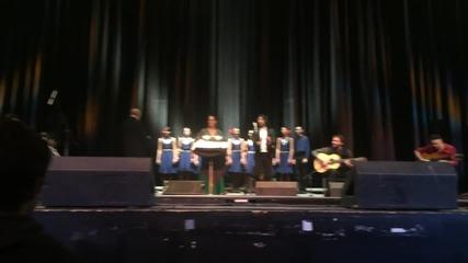 Български фолклор и фламенко на сцената на зала 1 на НДК