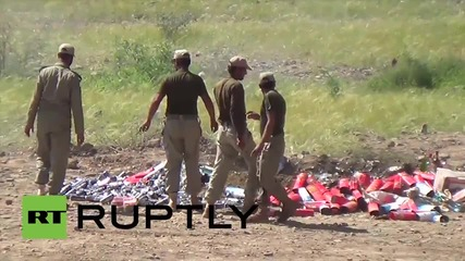 Pakistan: Pakistan army burn $1.8 million worth of hard drugs, blame the Taliban
