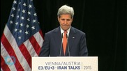 Kerry Says Iran Vow to Defy U.S. is 'Very Disturbing'