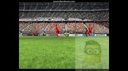 Perfect tactical free kick, но нацелих гредата #fifa 11#
