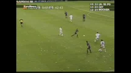 Raul gol vs barcelona