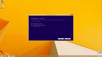 Надстройване до Windows 10 чрез инсталатор