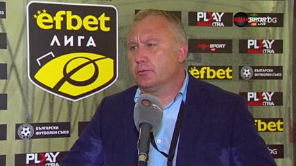 Киров: Беше мечта за мен отново да класирам тим за Европа