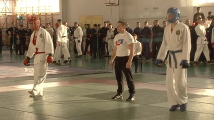 Russia: Military university cadets take part in close-fighting competition