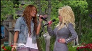 Jolene - performed by Miley Cyrus amp; Dolly Parton [hd]