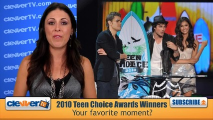 2010 Teen Choice Awards Winners Recap: Twilight, Vampire Diaries, Glee & More