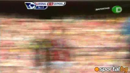 Арсенал 1:1 Ливърпул
