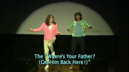 Еволюция на мама танци с участието на Мишел Обама!