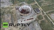 """Русия: Централа се разпада под """"погледа"""" на дрон"""