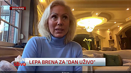 Lepa Brena - Intervju - Dan uzivo - (N1 BA, 2020)