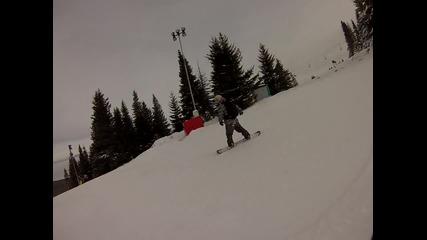 Goprо snowboarding