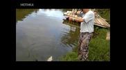 Как се лови риба с лък