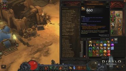 Diablo 3 : Reaper Of Souls - Torment 1 Build for fresh Barb - Prevod
