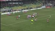 Чезена 1:3 Милан (19-02-2012 г.)