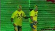 The Prime Time Players vs. Big E & Xavier Woods: Wwe Разбиване 13.08.2015