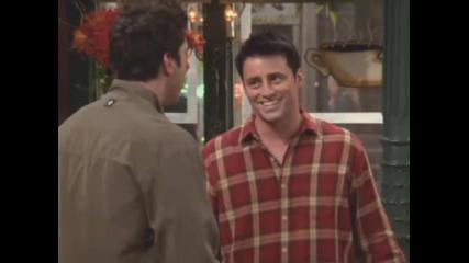 Най - смешната сцена от Приятели (100% Смях) !!