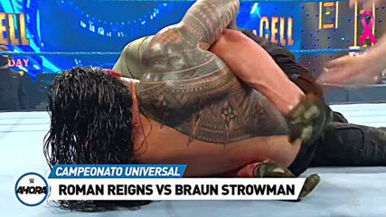 REVIVE SmackDown en 7 minutos: WWE Ahora, Oct 16, 2020