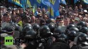 Ukraine: Clashes erupt in Kiev as decentralisation bill protest escalates