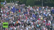 Greece: Athenians pack Syntagma square to call for 'no' vote