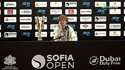 Яник Синер: В София се чувствах като у дома си