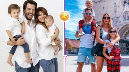 Щастливи, влюбени и щури: Родните звездни двойки, които имат по две деца