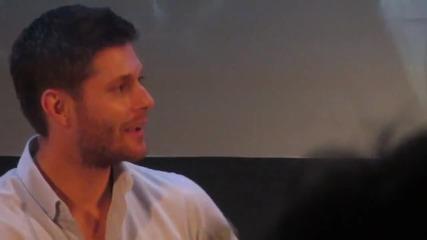 Jensen Ackles & Misha Collins - Misha's old resume