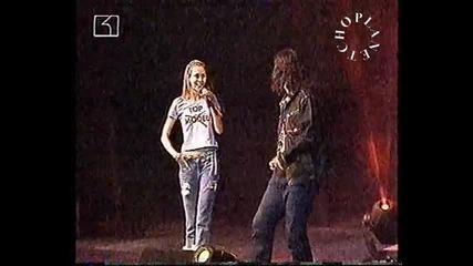 Награди на Бг радио 2001 - Дони и Нети - Тази вечер аз съм хубава(live) - By Planetcho