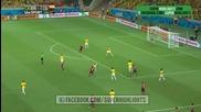 1/4 финал: Бразилия 2 – 1 Колумбия // F I F A World Cup 2014 // Brazil 2 – 1 Colombia // Highlights
