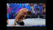 The Colons vs. Edge & Jericho vs. Legacy ( Unified Tag Team Championships ) Part 1