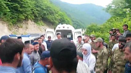 Russia: 9 y/o boy survives fall into 170 metre gorge
