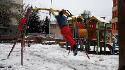 Кратко видео в началото на зимата