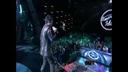 American Idol 2009 - Adam Lambert - Cryin`