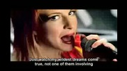 Paramore - Misery Business [with Lyrics] Official Music Video